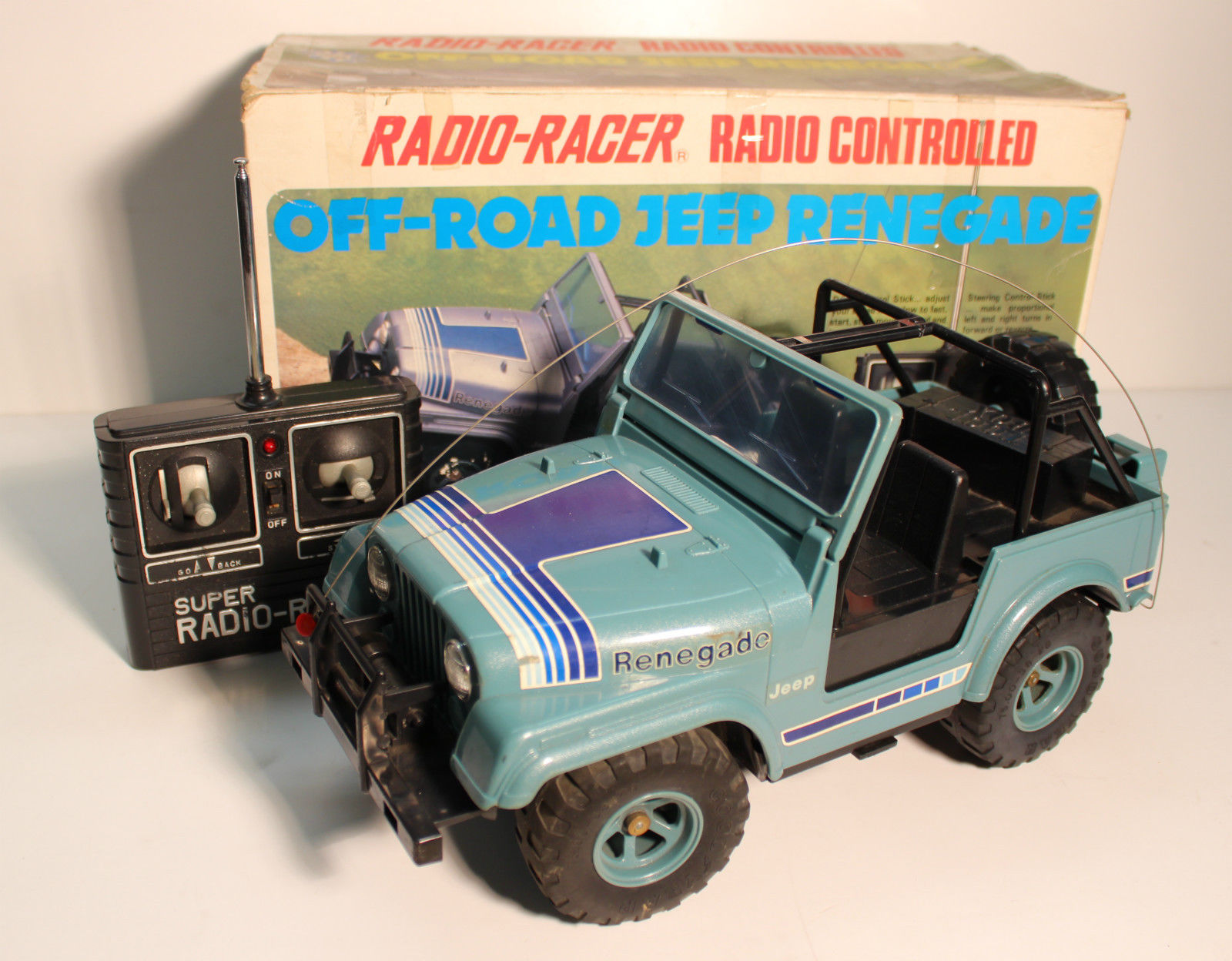 Radio Shack Toys For Boys : Tandy radio shack jeep renegade r c toy memories