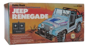 Tandy/Radio Shack Jeep Renegade