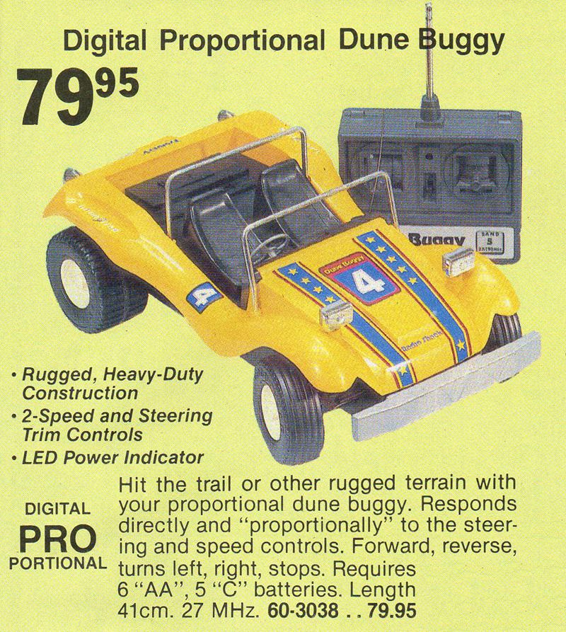 Tandy/Radio Shack Dune Buggy (1981)