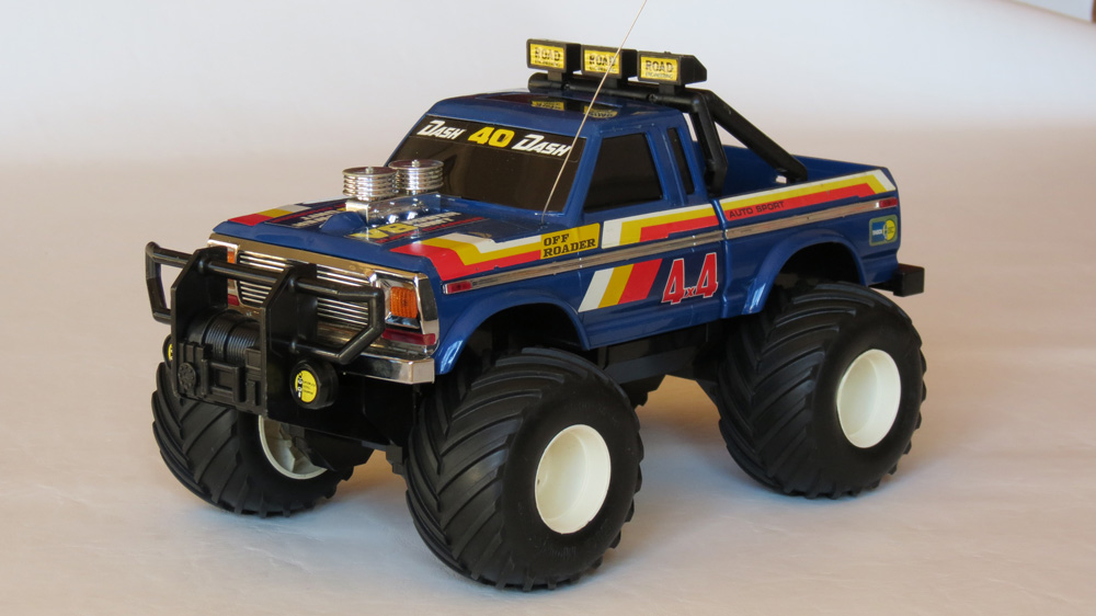 radio control monster truck with Tandy Radio Shack 4x4 Off Roader 1985 on 382102349616436834 as well 362085649054 as well 321253685653 as well Watch moreover Ride On Car 12v Electric Audi Q7 Style Suv With Parental Radio Control White 2071 P.
