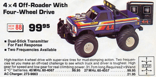 Tandy4x4offroader009 together with Kevin Holmlunds Incredible Scale Grave Digger Monster Truck likewise T13779885 Will find ecm relay vw polo vivo together with FinalProjects likewise T421863p1. on old radio s remote controlled car