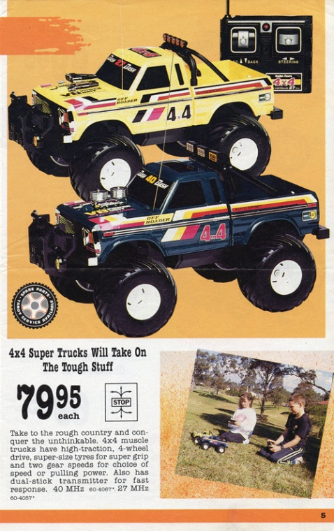 Tandy/Radio Shack 4x4 Off-Roader