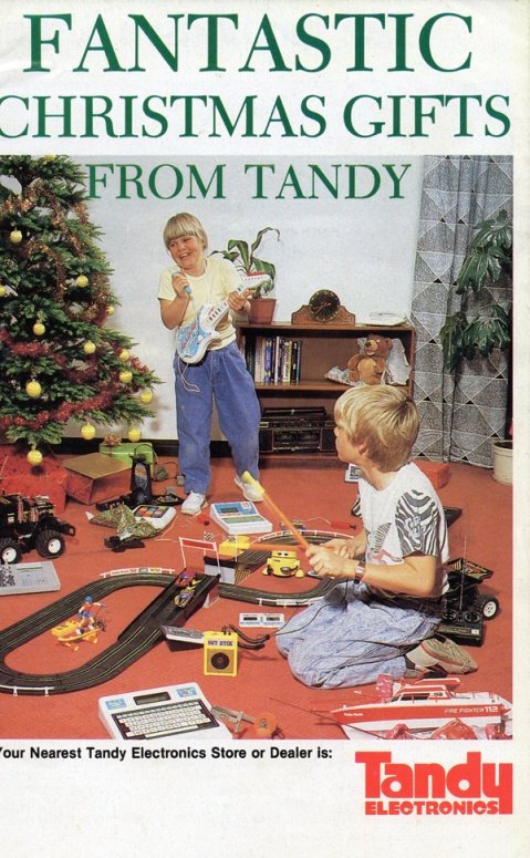 Tandy Fantastic Christmas Gifts, 1989