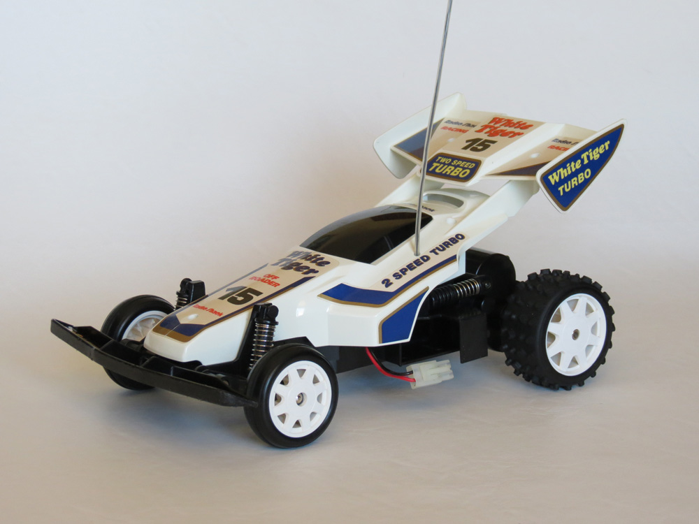 Tandy/Radio Shack White Tiger Turbo Buggy (1989)