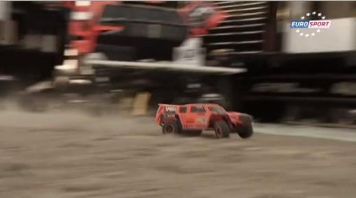 Robby Gordon Traxxas Hummer
