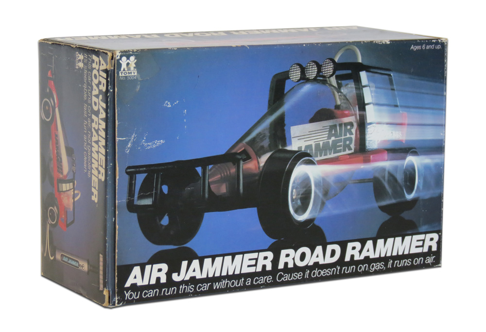 cool gas powered rc cars with Tomy Air Jammer Road Rammer 1980 on Homemade Giant Vortex Cannon Blows Down A Wall Of Bricks besides 400531946325 as well Kids Lamborghini Power Wheel 4 Colors in addition Model Aircraft Now Have Real Jet Engines additionally This Massive Custom Mud Truck Is Unbelievable.