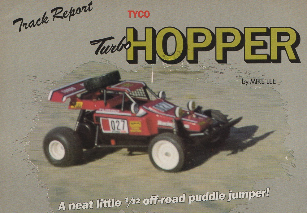 Tycotaiyo Turbo Hopper In Rc Car Action 1986 Rc Toy Memories