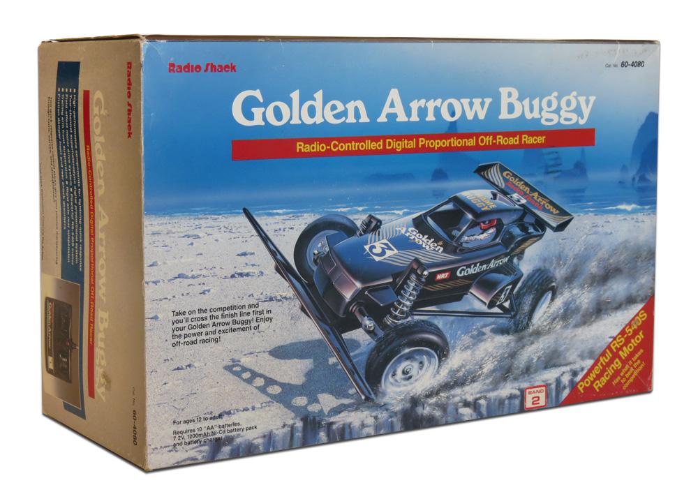 tandygoldenarrow001?w=519 tandy radio shack golden arrow buggy (1987) r c toy memories  at aneh.co