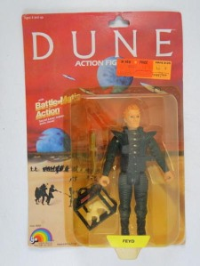 Dune Action Figure Yellowing