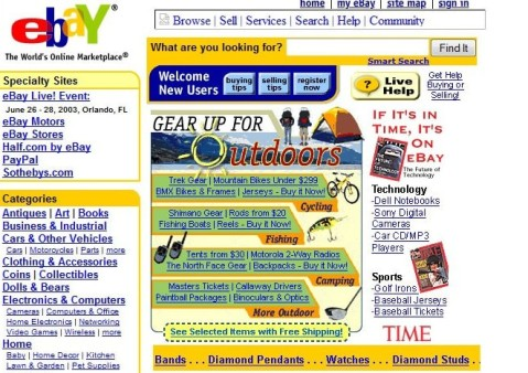 eBay in the early days