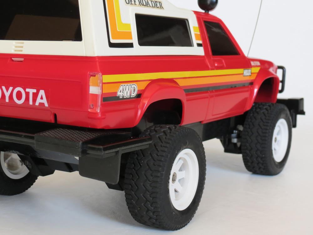 Nikko Toyota Hilux 4wd 1982 R C Toy Memories