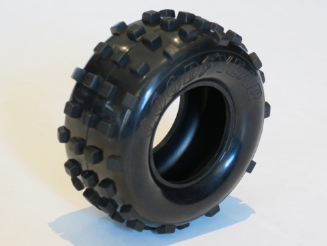 Original Kyosho Scorpion Rear Goodyear Tyre