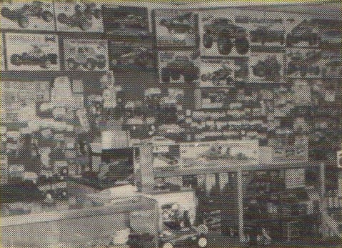 Mid Hudson Hobbies, Middletown New York, USA in 1986