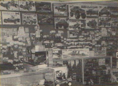 Mid Hudson Hobbies, Middletown New York, USA in 1986