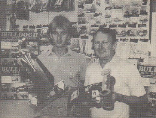 Model Engines Hobby Shop, Richmond, Melbourne, Australia in 1987