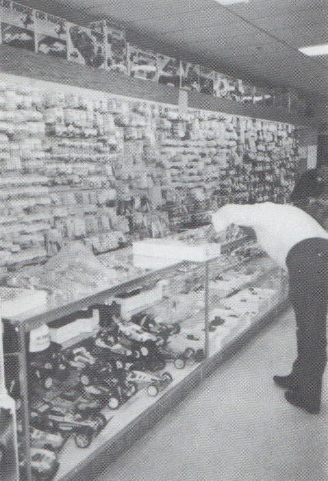 Ron Sheldon's Hobby Shop in San Jose, USA in 1987