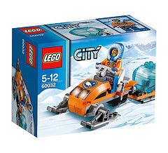 Lego Arctic Snowmobile