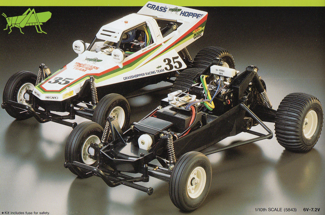 The Grasshopper By Tamiya 1984 R C Toy Memories