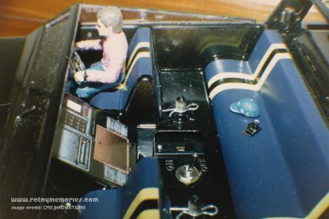 Ayrton Senna's JPS livery Asahi R/C Boat, 1986