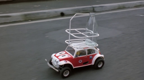 Tamiya Sand Scorcher in the film Malcolm (1986)