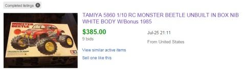 Original Tamiya Monster Beetle Sold On Ebay