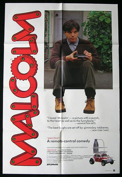 Image result for Malcolm film poster 1986