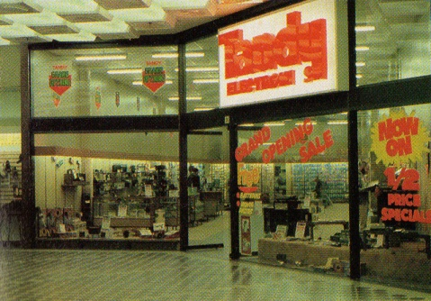 Tandy Electronics Australia store front, 1983