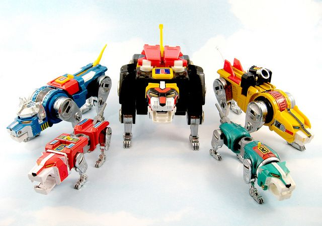 Image result for metal Voltron 80's toy