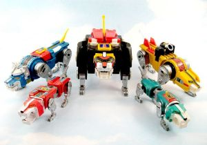 Quality toys: Vintage Matchbox Voltron toys made in Japan are the ones you want - but be sure to avoid the ones manufactured in Taiwan as they contain lead.