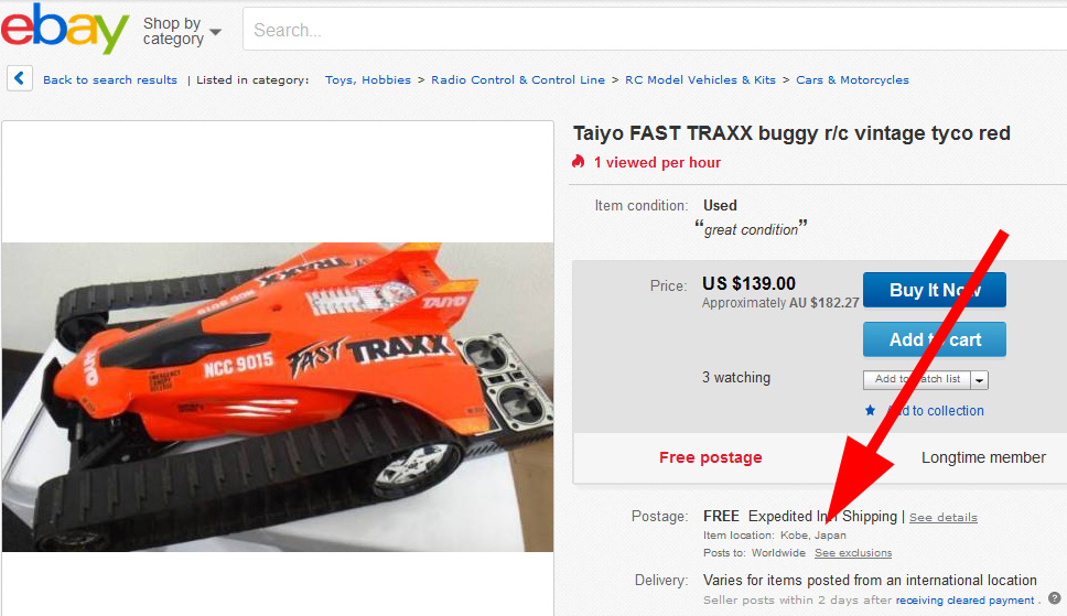 How to avoid two common eBay scams | R/C Toy Memories